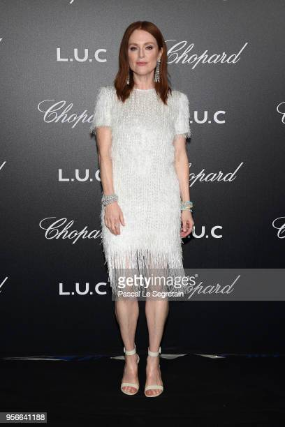 Julianne Moore attends the Chopard Gentleman's Evening at Hotel Martinez on May 9 2018 in Cannes France