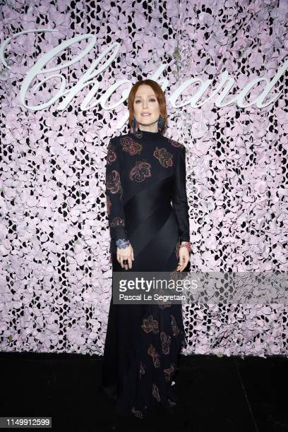 Julianne Moore attends the Chopard Love Night dinner on May 17, 2019 in Cannes, France.