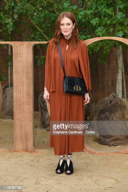 Julianne Moore attends the Christian Dior Womenswear Spring/Summer 2020 show as part of Paris Fashion Week on September 24 2019 in Paris France