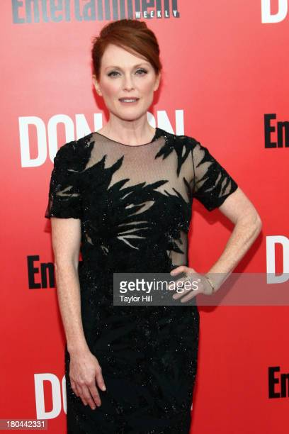 Julianne Moore attends the Don Jon New York Premiere at SVA Theater on September 12 2013 in New York City