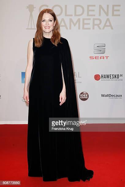 Julianne Moore attends the Goldene Kamera 2016 on February 6 2016 in Hamburg Germany