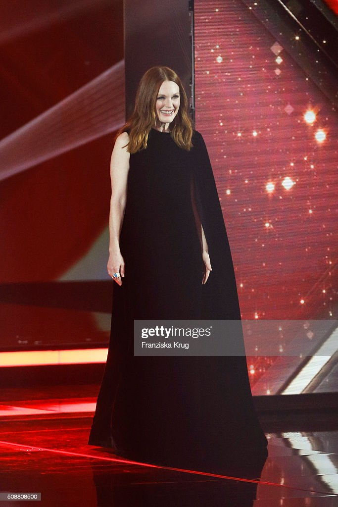 Julianne Moore attends the Goldene Kamera 2016 show on February 6, 2016 in Hamburg, Germany.