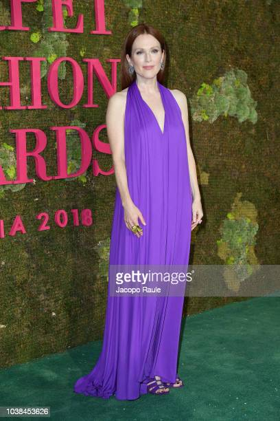 Julianne Moore attends the Green Carpet Fashion Awards at Teatro Alla Scala on September 23 2018 in Milan Italy