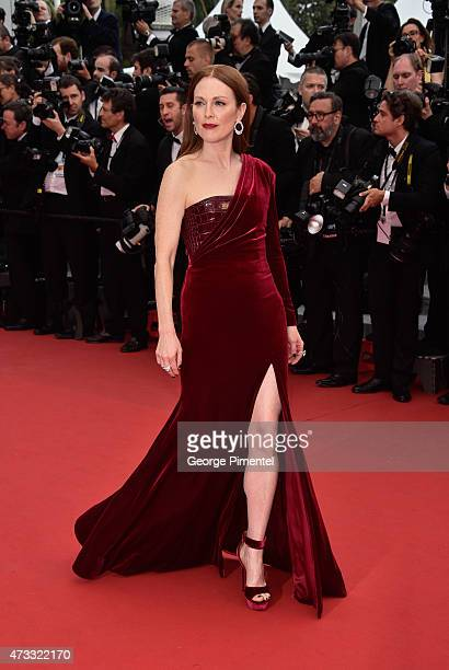 "Julianne Moore attends the ""Mad Max : Fury Road"" Premiere during the 68th annual Cannes Film Festival on May 14, 2015 in Cannes, France."