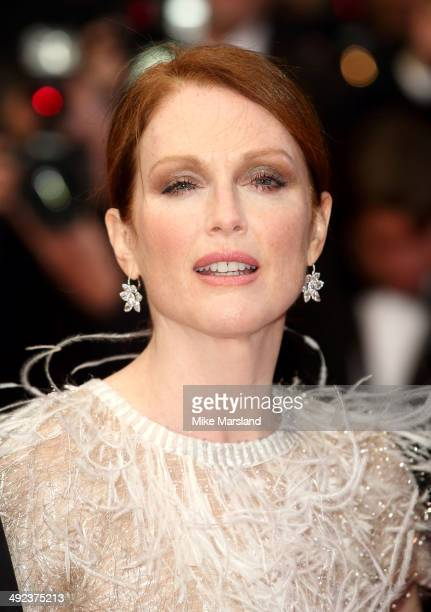 Julianne Moore attends the 'Maps To The Stars' Premiere at the 67th Annual Cannes Film Festival on May 19 2014 in Cannes France