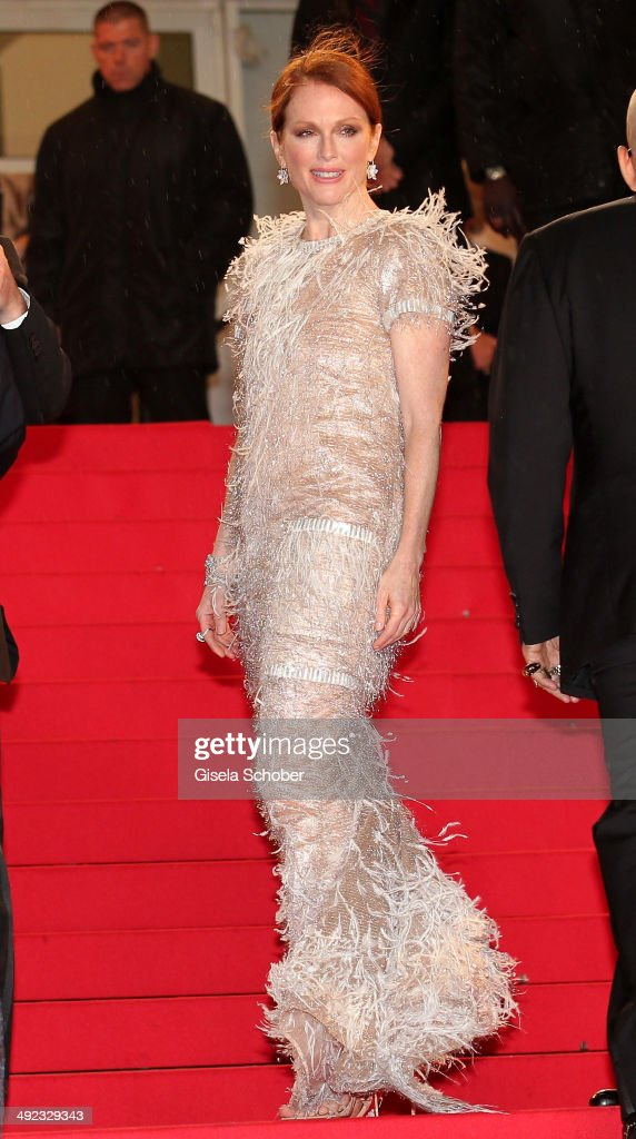 Julianne Moore attends the 'Maps To The Stars' premiere during the 67th Annual Cannes Film Festival on May 19, 2014 in Cannes, France.