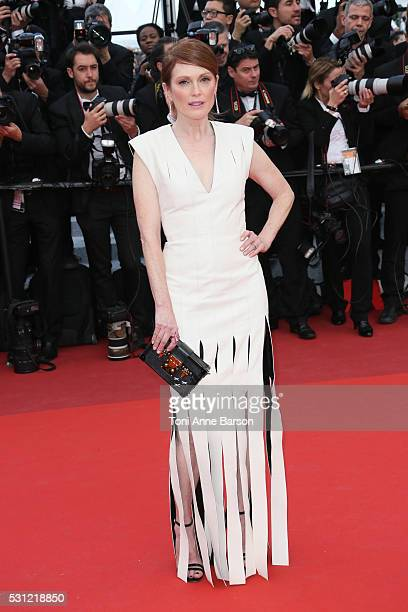 Julianne Moore attends the Money Monster Premiere during the 69th annual Cannes Film Festival on May 12 2016 in Cannes France