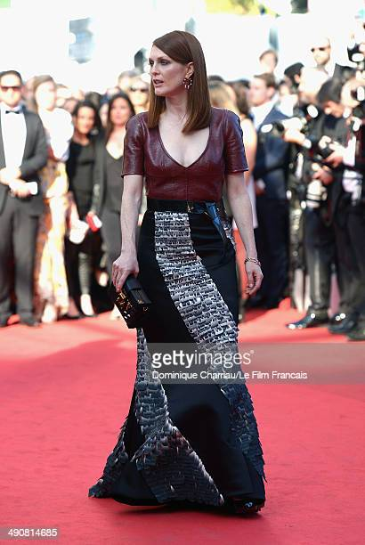 Julianne Moore attends the MrTurner Premiere at the 67th Annual Cannes Film Festival on May 15 2014 in Cannes France