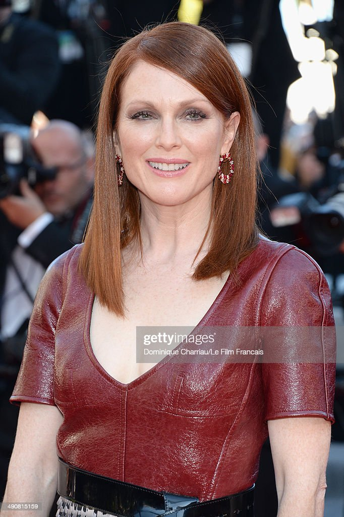 Julianne Moore attends the 'Mr.Turner' Premiere at the 67th Annual Cannes Film Festival on May 15, 2014 in Cannes, France.