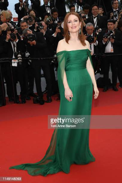 Julianne Moore attends the opening ceremony and screening of The Dead Don't Die during the 72nd annual Cannes Film Festival on May 14 2019 in Cannes...