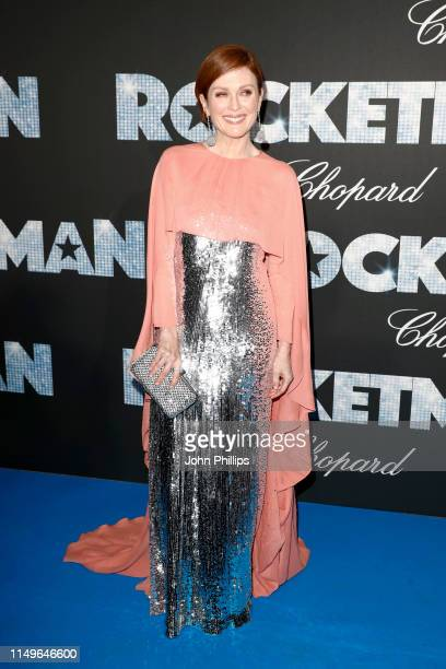 """Julianne Moore attends the """"Rocketman"""" Gala Party during the 72nd annual Cannes Film Festival on May 16, 2019 in Cannes, France."""