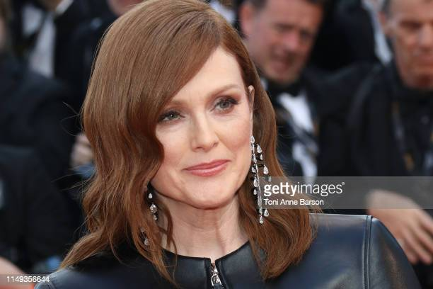 """Julianne Moore attends the screening of """"Les Miserables"""" during the 72nd annual Cannes Film Festival on May 15, 2019 in Cannes, France."""