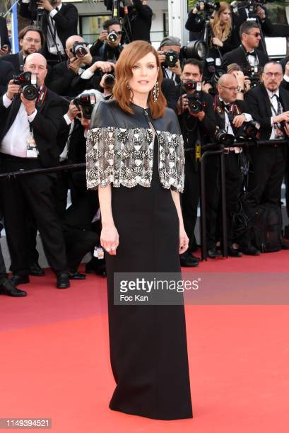 Julianne Moore attends the screening of Les Miserables during the 72nd annual Cannes Film Festival on May 15 2019 in Cannes France