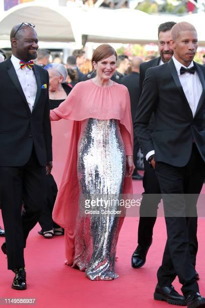 """Julianne Moore attends the screening of """"Rocketman"""" during the 72nd annual Cannes Film Festival on May 16, 2019 in Cannes, France."""