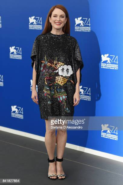 Julianne Moore attends the 'Suburbicon' photocall during the 74th Venice Film Festival on September 2 2017 in Venice Italy