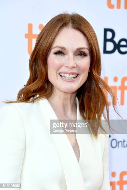Julianne Moore attends the Suburbicon premiere during the 2017 Toronto International Film Festival at Princess of Wales Theatre on September 9 2017...