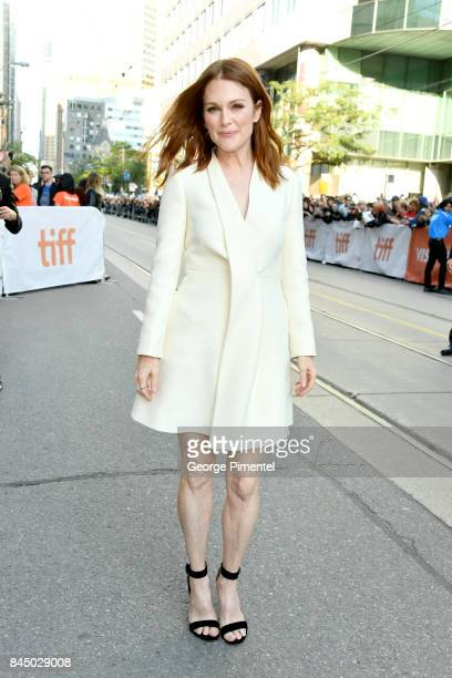 Julianne Moore attends the 'Suburbicon' premiere during the 2017 Toronto International Film Festival at Princess of Wales Theatre on September 9 2017...