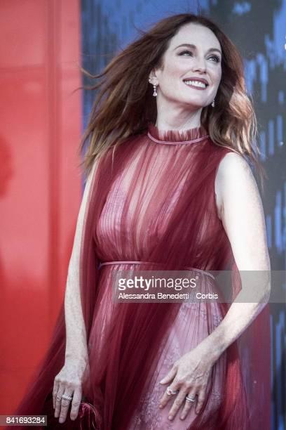 Julianne Moore attends the The Franca Sozzani Award during the 74th Venice Film Festival at Sala Giardino on September 1 2017 in Venice Italy