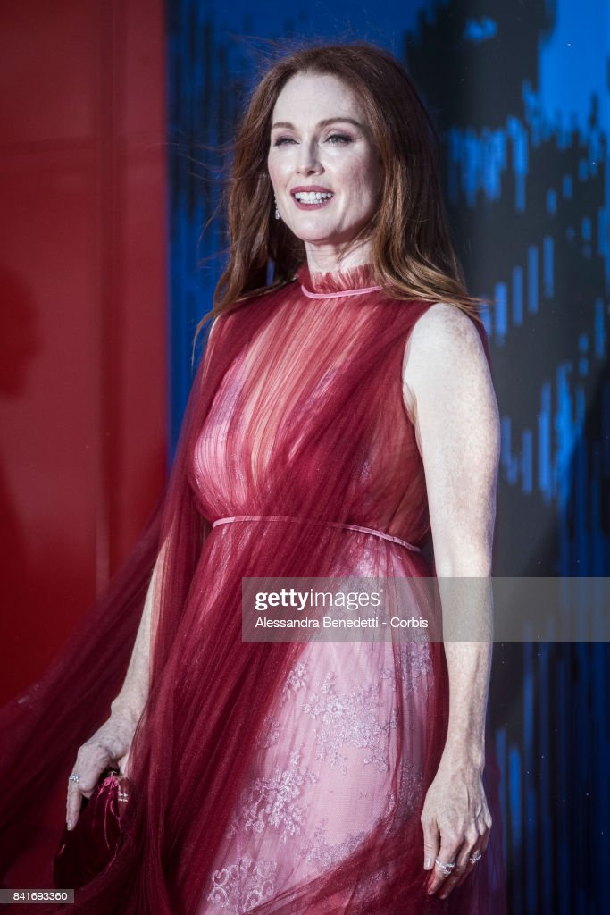 Julianne Moore attends the The Franca Sozzani Award during the 74th Venice Film Festival at Sala Giardino on September 1, 2017 in Venice, Italy.