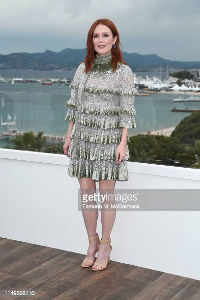 """Julianne Moore attends the """"The Staggering Girl"""" Photocall during the 72nd annual Cannes Film Festival on May 17, 2019 in Cannes, France."""