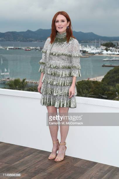 Julianne Moore attends the The Staggering Girl Photocall during the 72nd annual Cannes Film Festival on May 17 2019 in Cannes France