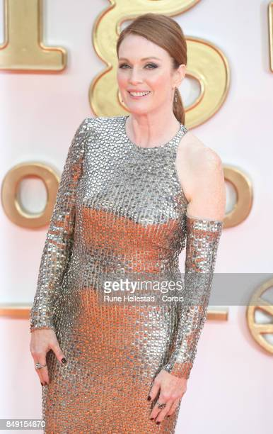 Julianne Moore attends the UK premiere of 'Kingsman The Golden Circle' at Odeon Leicester Square on September 18 2017 in London England