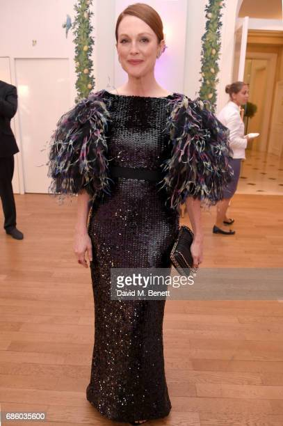 Julianne Moore attends the Vanity Fair and HBO Dinner celebrating the Cannes Film Festival at Hotel du CapEdenRoc on May 20 2017 in Cap d'Antibes...