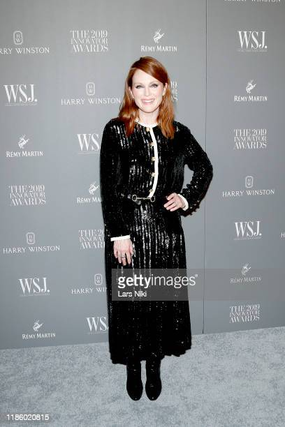 Julianne Moore attends the WSJ Magazine 2019 Innovator Awards sponsored by Harry Winston and Rémy Martinat MOMA on November 06 2019 in New York City