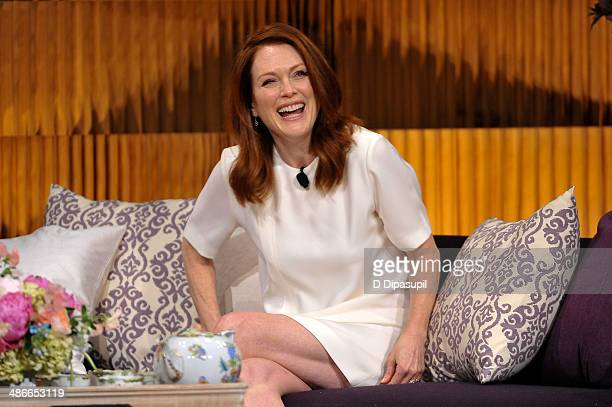 Julianne Moore attends THRIVE: A Third Metric Live Event at New York City Center on April 25, 2014 in New York City.