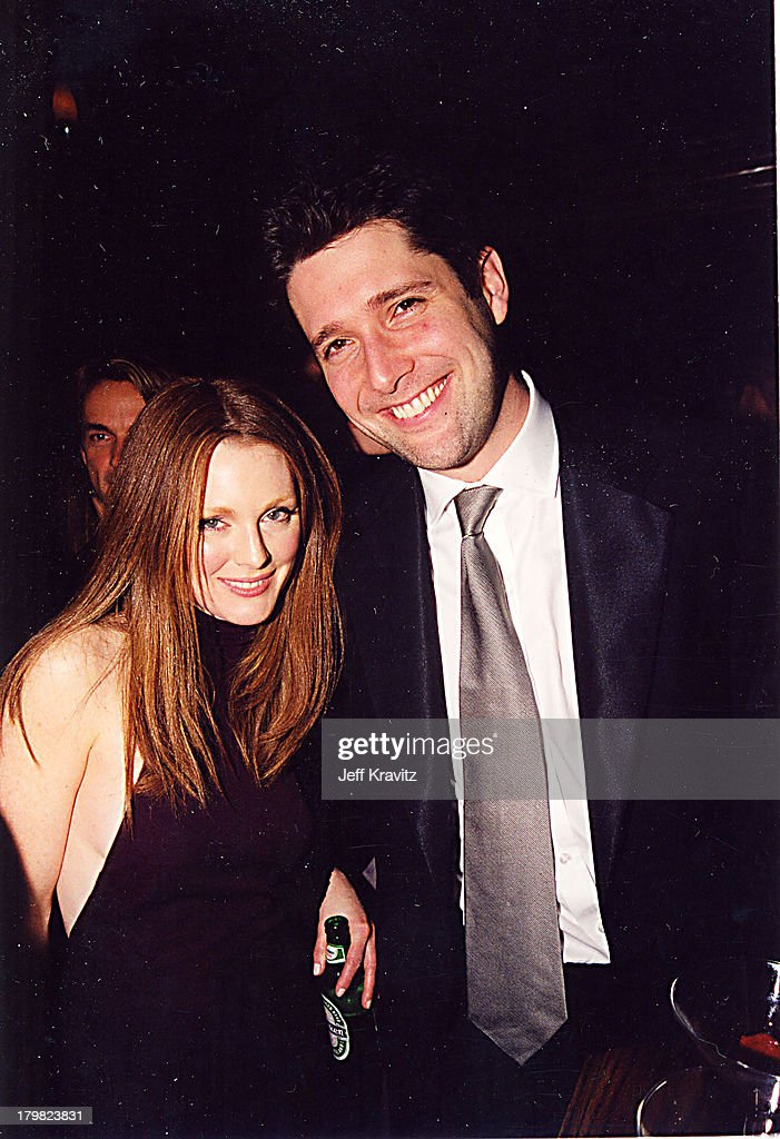 Julianne Moore during 2000 Golden Globe SKG Party in Los Angeles, California, United States.