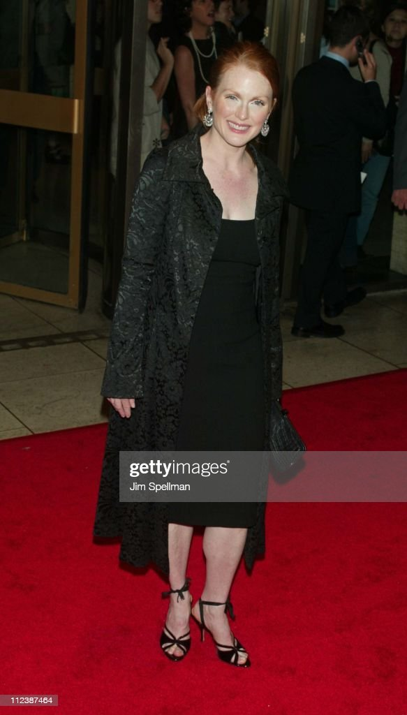 Julianne Moore during 40th New York Film Festival - Opening Night - 'About Schmidt ' Premiere at Avery Fisher Hall, Lincoln Center in New York, New York, United States.