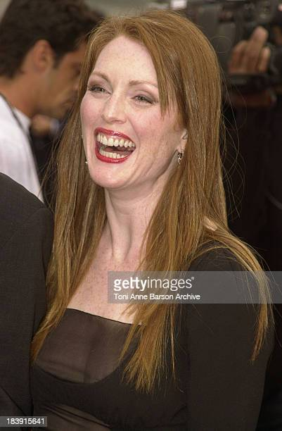 Julianne Moore during Deauville 2001 The World Traveler World Premiere Tribute to Julianne Moore at Centre International Deauville CID in Deauville...