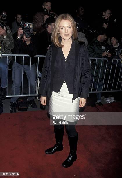 Julianne Moore during 'Meet Joe Black' New York Premiere at Ziegfeld Theater in New York City New York United States