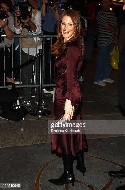 Julianne Moore during 'New Yorkers for Children' Fall Gala at Regent Wall Street in New York City New York United States