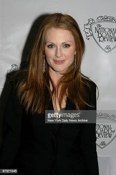 Julianne Moore is on hand at Tavern on the Green where the National Board of Review held its annual awards gala She won Best Actress for her...