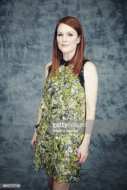 Julianne Moore is photographed at the 2015 Film Independent Spirit Awards for on February 21 2015 in Santa Monica California