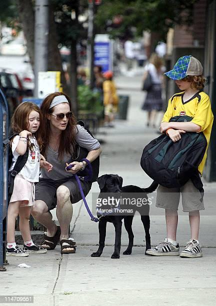 Julianne Moore Liv Helen Freundlich and Cal Moore