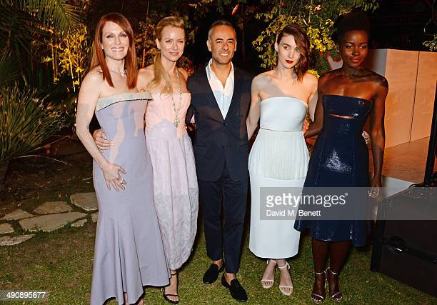Julianne Moore Naomi Watts Francisco Costa Women's Creative Director of Calvin Klein Collection Rooney Mara and Lupita Nyong'o attend the IFP Calvin...
