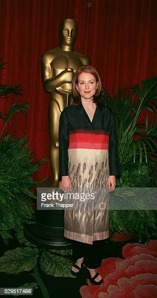 Julianne Moore nominated in the category Best Supporting Actress for 'Boogie Nights'