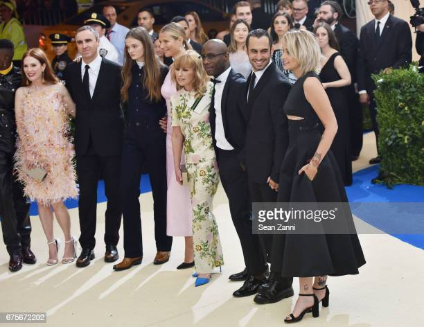 Julianne Moore Raf Simons Gwyneth Paltrow Barry Jenkins Tom Hamilton Paris Jackson arrive at 'Rei Kawakubo/Comme des Garcons Art Of The InBetween'...