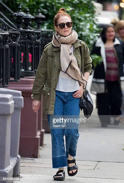 Julianne Moore seen on May 24 2016 in New York City