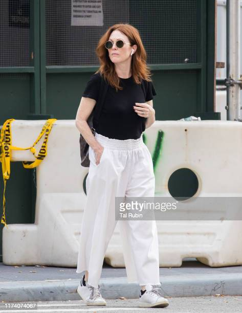 Julianne Moore seen on September 11 2019 in New York City