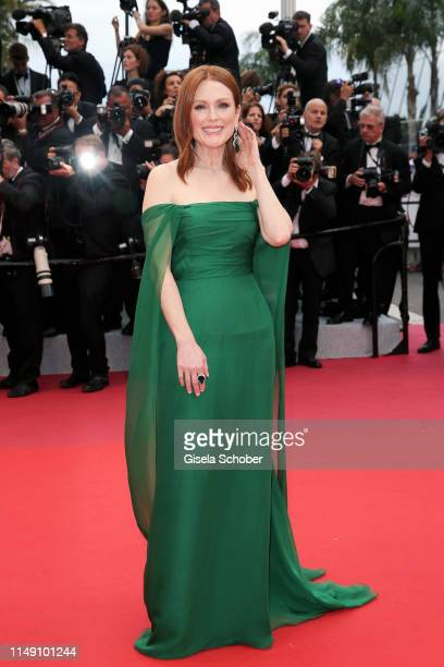 """Julianne Moore, wearing Chopard jewels attends the opening ceremony and screening of """"The Dead Don't Die"""" during the 72nd annual Cannes Film Festival..."""