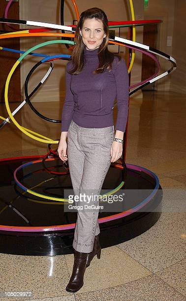 Julianne Morris during The 2003 National Cable Telecommunications Assn Press Tour Day One at Renaissance Hotel in Hollywood California United States