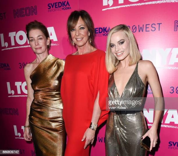 Julianne Nicholson Allison Janney and Margot Robbie attend NEON and 30WEST Present the Los Angeles Premiere of 'I Tonya' Supported By Svedka on...