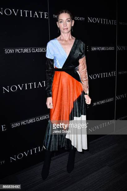 """Julianne Nicholson attends Miu Miu & The Cinema Society host a screening of Sony Pictures Classics' """"Novitiate"""" at The Landmark at 57 West on October..."""