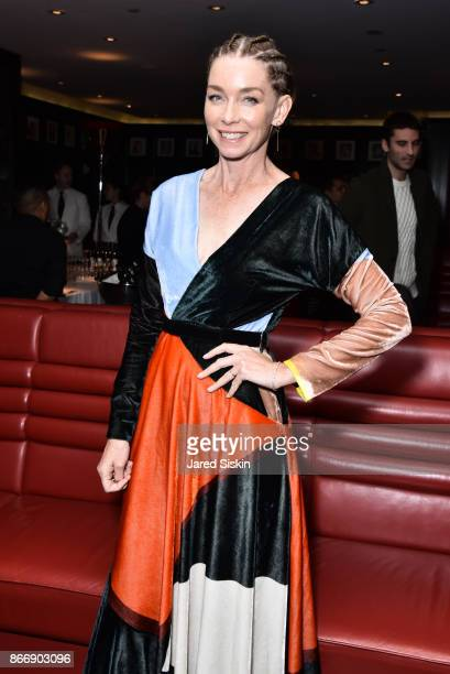 Julianne Nicholson attends Miu Miu The Cinema Society host the after party for Sony Pictures Classics' Novitiate at The Lambs Club on October 26 2017...