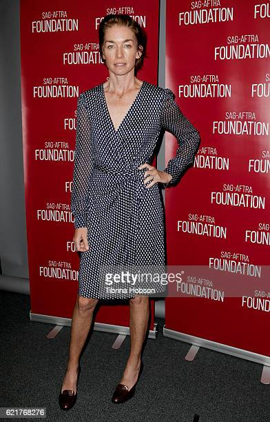 Julianne Nicholson attends SAGAFTRA Foundation's Conversations with the cast of 'Eyewitness' at SAG Foundation Actors Center on November 7 2016 in...