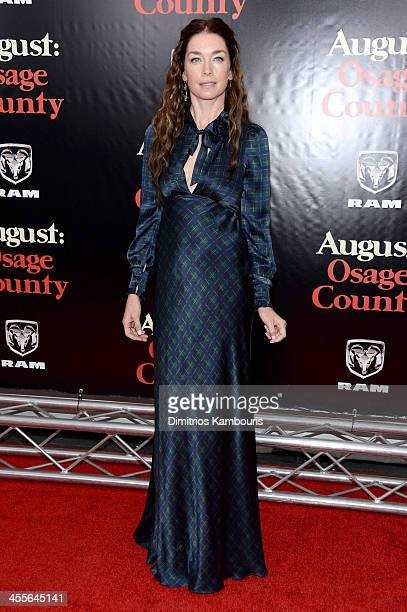 Julianne Nicholson attends the premiere of AUGUSTOSAGE COUNTY presented by The Weinstein Company with Ram Trucks on December 12 2013 in New York City