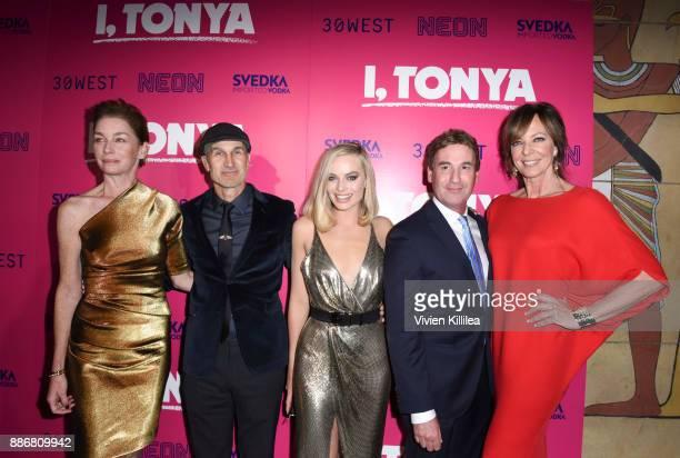 Julianne Nicholson Craig Gillespie Margot Robbie Steven Rogers and Allison Janney attend NEON and 30WEST Present the Los Angeles Premiere of 'I...